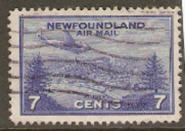 Newfoundland  1943  SG 291  7c  Air Mail Fine Used - 1908-1947