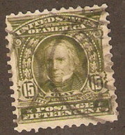 United States Of America  1902 SG  315  Clay  Fine Used - Gebruikt