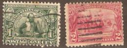 United States Of America  1907 SG  335-6  Jamestown Exposition   Fine Used - Gebruikt