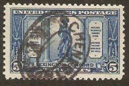 United States Of America  1925  SG  619  Lexington Concord  Fine Used - Gebruikt