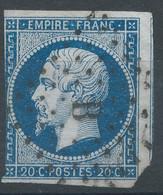 Lot N°59139  N°14A, Oblit Losange B De PARIS - 1853-1860 Napoleon III