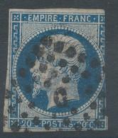 Lot N°59142  N°14A, Oblit Losange C De PARIS - 1853-1860 Napoleon III