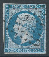 Lot N°59144  N°14A, Oblit Losange D De PARIS - 1853-1860 Napoleon III