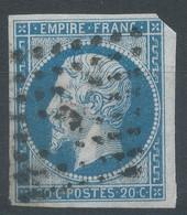 Lot N°59148  N°14A, Oblit Losange E De PARIS - 1853-1860 Napoleon III