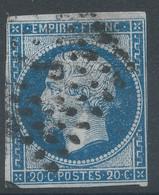 Lot N°59149  N°14A, Oblit Losange J De PARIS - 1853-1860 Napoleon III