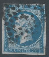 Lot N°59150  N°14A, Oblit Losange K De PARIS - 1853-1860 Napoleon III