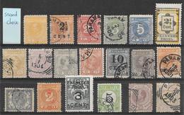 Suriname (& Curaçao) Classiques Lot De 19 TP 1873-1927 O, * & (*) - Surinam ... - 1975