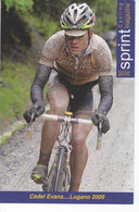 CADEL EVANS MAILLOT CHAMPION DU MONDE LUGANO 2009 SERIE SPRINT N° 203 - Cycling