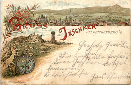 Gruss Aus Jeschken - Litho - Tschechische Republik
