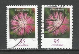 Duitsland 2019 Mi 3470 + 83, Bloemen,   Gestempeld - Used Stamps