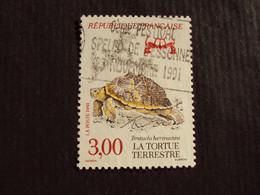 "1990-99 - Oblitéré N°  2722  ""   La Tortue Terrestre    ""      Net  0.30 - Used Stamps"