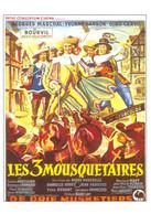 Bourvil Georges Marchal Gino Cervi Yvonne Sanson Les 3 Mousquetaires - Attori