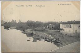 71, Saone Et Loire, CRECHE SUR SAONE, Port D'Arcias, Scan Recto-Verso - Altri Comuni