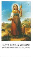 S. GEMMA V. Goriano Sicoli   - M - BR - Mm. 60 X 105 - Religion & Esotericism