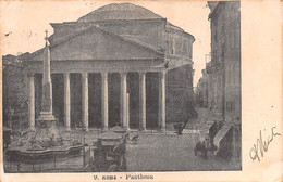 "10316""ROMA-PANTHEON""-VERA FOTO-CARTOLINA SPEDITA 1903 IN EGITTO - Pantheon"