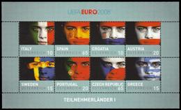 (dcbv-1714)  Austria  -  Autriche  -  Oostenrijk   Mi 2735-50 Ms  (2)  Euro   2008    MNH  (2 Scans) - Europees Kampioenschap (UEFA)