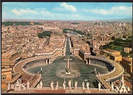 Italia - Cartolina Postale - Circa 1960 - Roma - Piazza S. Pietro - Non Circolato - A1RR2 - San Pietro