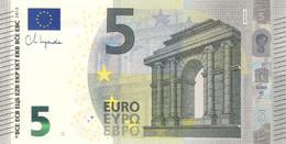 5 Euro - New Signature Ch. Lagarde Serie NC - AUSTRIA Plate N020 Perfect UNC - 5 Euro