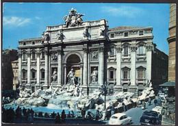 Italia - Cartolina Postale - Circa 1960 - Roma - Fontana Di Trevi - Non Circolato - A1RR2 - Fontana Di Trevi