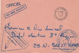 13531  SOUS-MARIN MARSOUIN - CENTRE SOUS MARIN LORIENT MARINE - 1/6/1972 - Naval Post