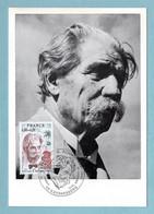 Carte Maximum 1975  - Docteur Albert Schweitzer  YT 1824 - 68 Kaysersberg - - 1970-79