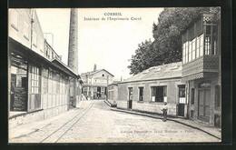 CPA Corbeil, Intérieur De L`Imprimerie Creté - Non Classés