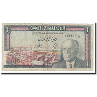 Billet, Tunisie, 1 Dinar, 1965, 1965-06-01, KM:63a, TB+ - Tusesië
