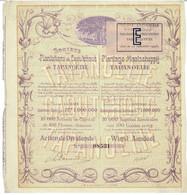 Titre Ancien - Société Des Plantations De Caoutchouc De Tapanoelie -Plantage Maatschappij  - Titre De 1908 - Déco - Asia