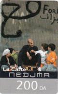 ALGERIA - Zinedine Zidane, Wataniya Telecom Prepaid Card 200 DA, Exp.date 30/09/08, Used - Algeria