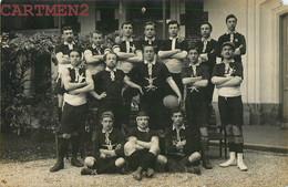 CARTE PHOTO : AUXERRE SENS EQUIPE DE RUGBY DU LYCEE S.A.L.S. 1908  SPORT 89 YONNE OUANNE MORISSET - Auxerre