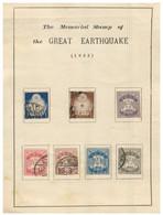 (V 17) Japan - The Memorial Stamp Of The Great Earthquake (1923) - Gebruikt