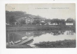 Tilff   L'Ourthe à Sainval   Ferme Deflandre Et Hôtel 1913 - Esneux