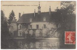 88 - GIRECOURT-sur-DURBILLON +++ Le Château +++ Carte Rare +++ - Sonstige Gemeinden