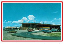 26868  CPA  Administration Building Lobby , Yellostone National Park Airport  - West Yellostone , MONTANA - Yellowstone