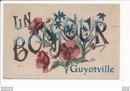 Carte Un Bonjour De Guyotville - Other Cities