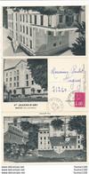Carte à 3 Volets Hôtel Le Sainte Jeanne D'arc à Royat ( Format C.P.A ) - Royat
