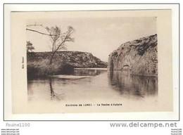 Carte Des Environs De  Lunel La Roche D' Aubais ( Daubais ) - Lunel