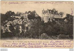 Carte Du Château De La Guitière Près De Saint - Pierre - De - Maillé ( Saint-pierre-de-maillé ) - Sin Clasificación