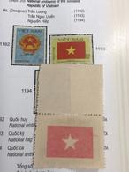 NORTH Vietnam VIETNAM(ERROR Print Star Face)national Flag-1PCS 1STAMPS Error/year 1980 - Vietnam