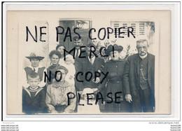 Carte Photo De Famille ( Au Dos Poitiers 1920 2 Bis Rue Chevrier ) à Vérifier ( Recto Verso ) - Poitiers