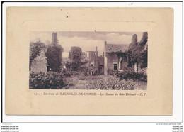 Carte  Des Environs  De Bagnoles De L' Orne   Les Ruines Du Bois Thibault  ( Recto Verso ) - Bagnoles De L'Orne
