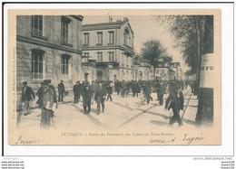 Carte De Puteaux  Sortie Du Personnel Des Usines De Dion Bouton   ( Recto Verso ) - Puteaux