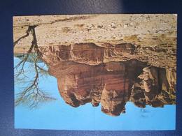 ISRAEL KING SALOMON PILLARS EILAT POSTCARD PICTURE PHOTO POST CARD ANSICHTSKARTE CARTOLINA CARTE POSTALE CACHET STAMP - Israel