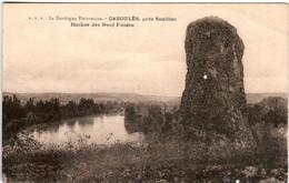 61le 1726 CPA - CAZOULES PRES SOUILLAC - ROCHER DES NEUF FUSEES - Souillac