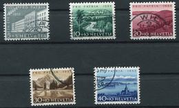 Schweiz-Switzerland-Suisse: Pro Patria Mi 613-617 1955 Gestempelt / Used / Oblitéré - Used Stamps