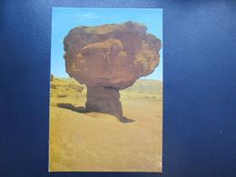 ISRAEL TIMNA PARK MUSHROOM ARAVA POSTCARD PICTURE PHOTO POST CARD ANSICHTSKARTE CARTOLINA CARTE POSTALE CACHET STAMP - Israel