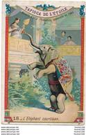Chromo  Tapioca De L' étoile L' éléphant Courtisan - Sonstige