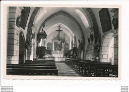 Carte D' ARINTHOD  Intérieur De L' église  ( Format C.P.A ) - Andere Gemeenten