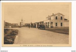 Carte D' ISTRES Entrée Du Camp D'aviation  ( Recto Verso ) - Istres