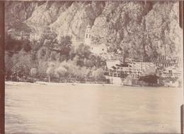 LIMONE-BRESCIA-LAGO DI GARDA--VERA FOTOGRAFIA-NO  CARTOLINA-ANNO 1907-1910 - Brescia